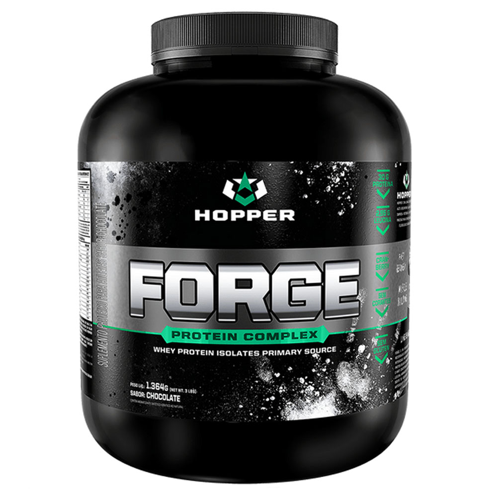 Whey Forge Protein Complex Isolates Chocolate 3 LBS - Hopper  - KFit Nutrition
