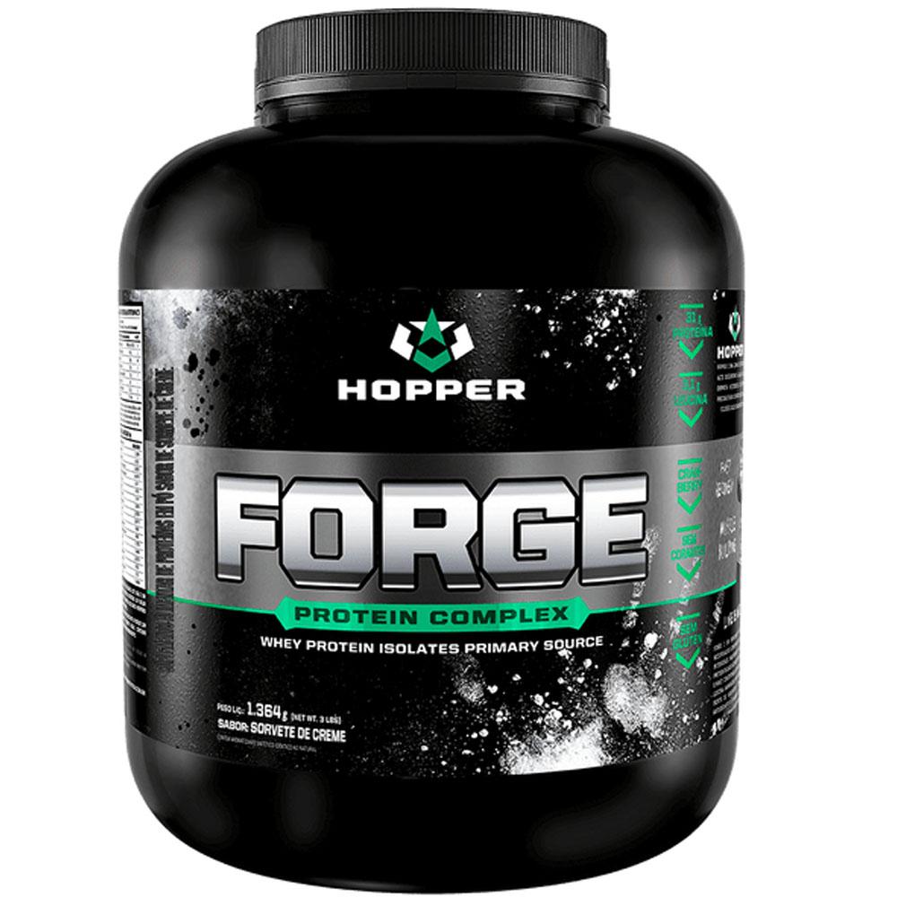 Whey Forge Protein Complex Isolates Sorvete de Creme 3 LBS - Hopper  - KFit Nutrition