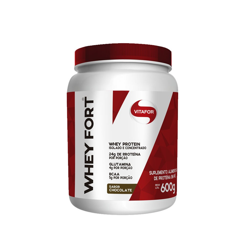 Whey Fort 600g Chocolate - Vitafor  - KFit Nutrition