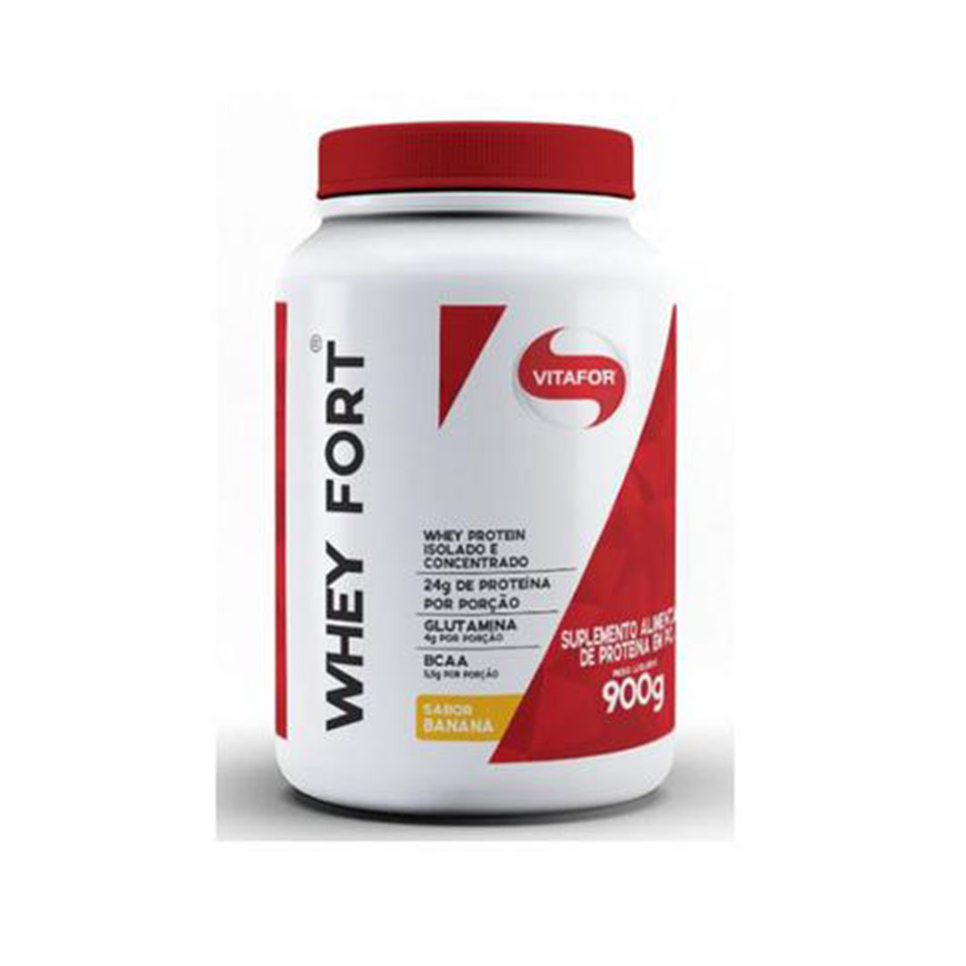 Whey Fort 900g Banana  - KFit Nutrition