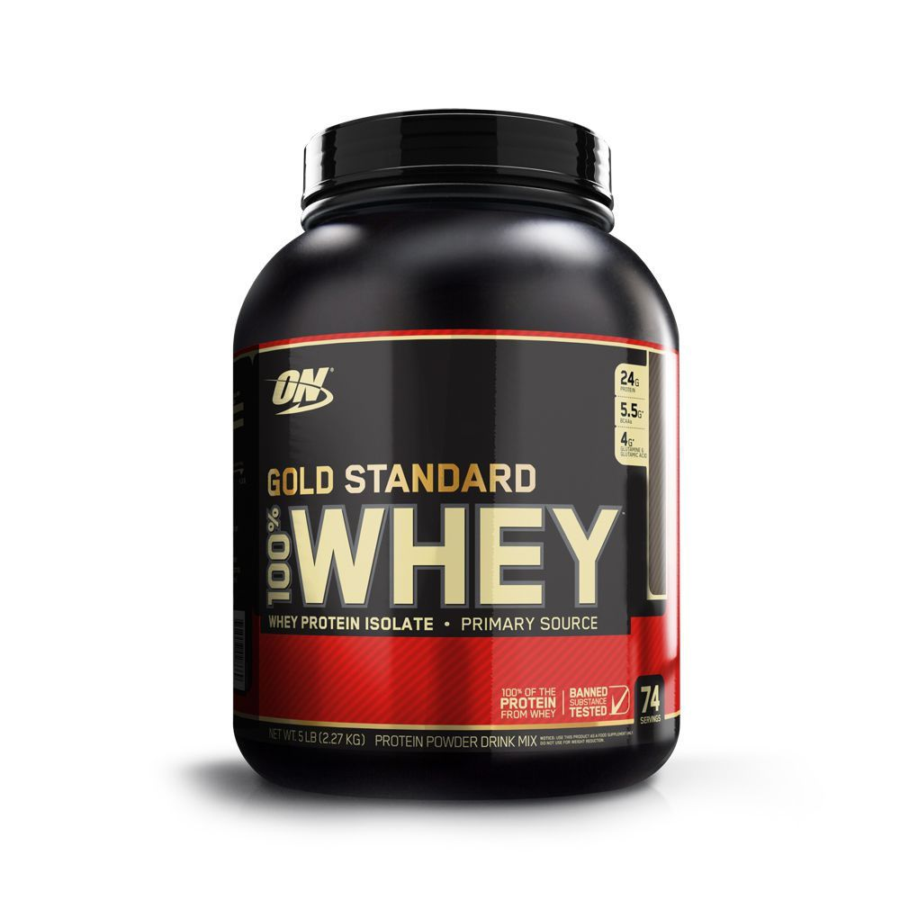 Whey Gold 100% 5Lbs Chocolate Com Coco  - KFit Nutrition