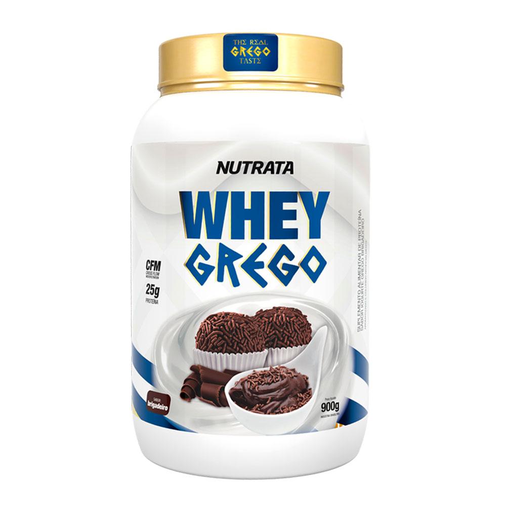 Whey Grego Brigadeiro 900g - Nutrata  - KFit Nutrition