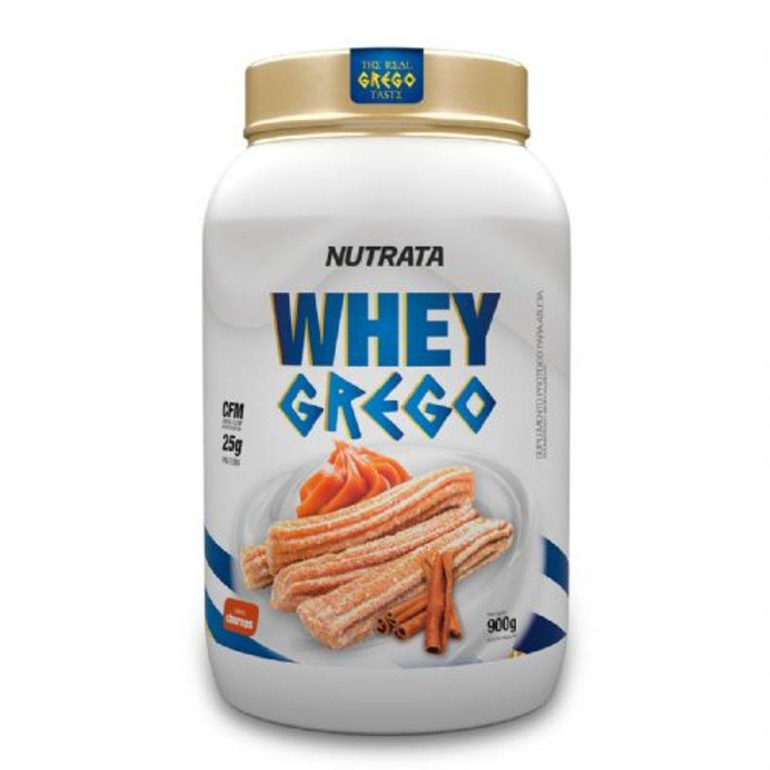 Whey Grego Churros 900gr - Nutrata  - KFit Nutrition