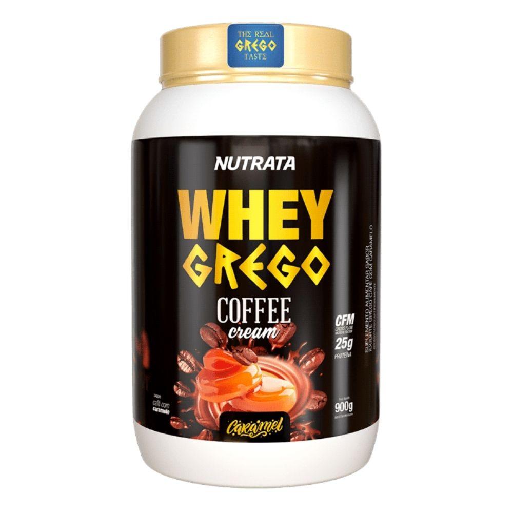 Whey Grego Coffee Cream Caramel 900gr - Nutrata  - KFit Nutrition