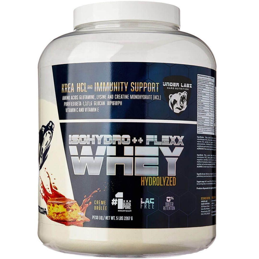 Whey Isohydro Flexx 2267g Creme Brûlée  Under Labz  - KFit Nutrition