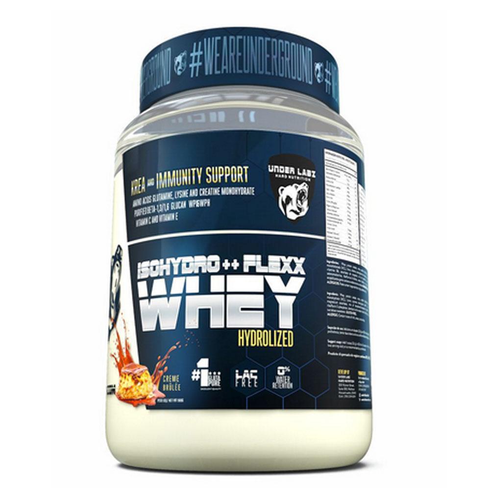 Whey Isohydro Flexx 907g Creme Brûlée - Under Labz  - KFit Nutrition