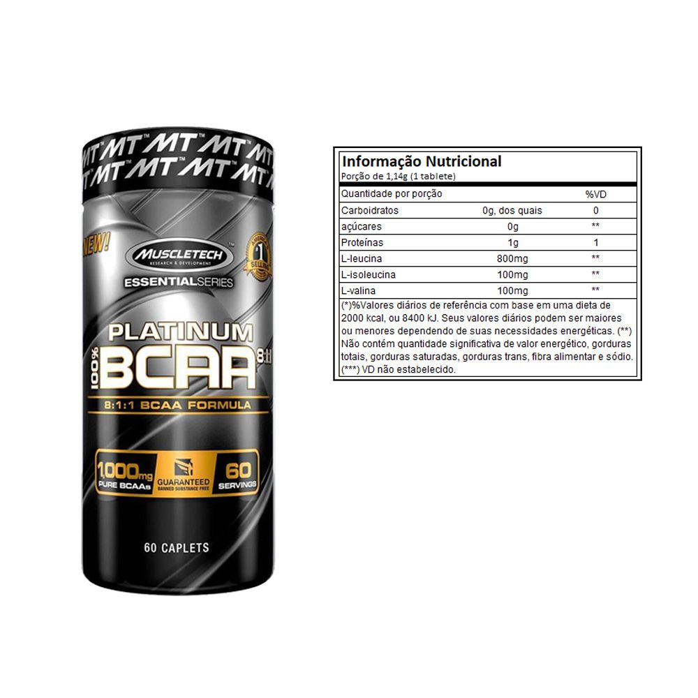 Whey Protein 900g Coco + Bcaa Platinum 60 Caps + Bottle  - KFit Nutrition