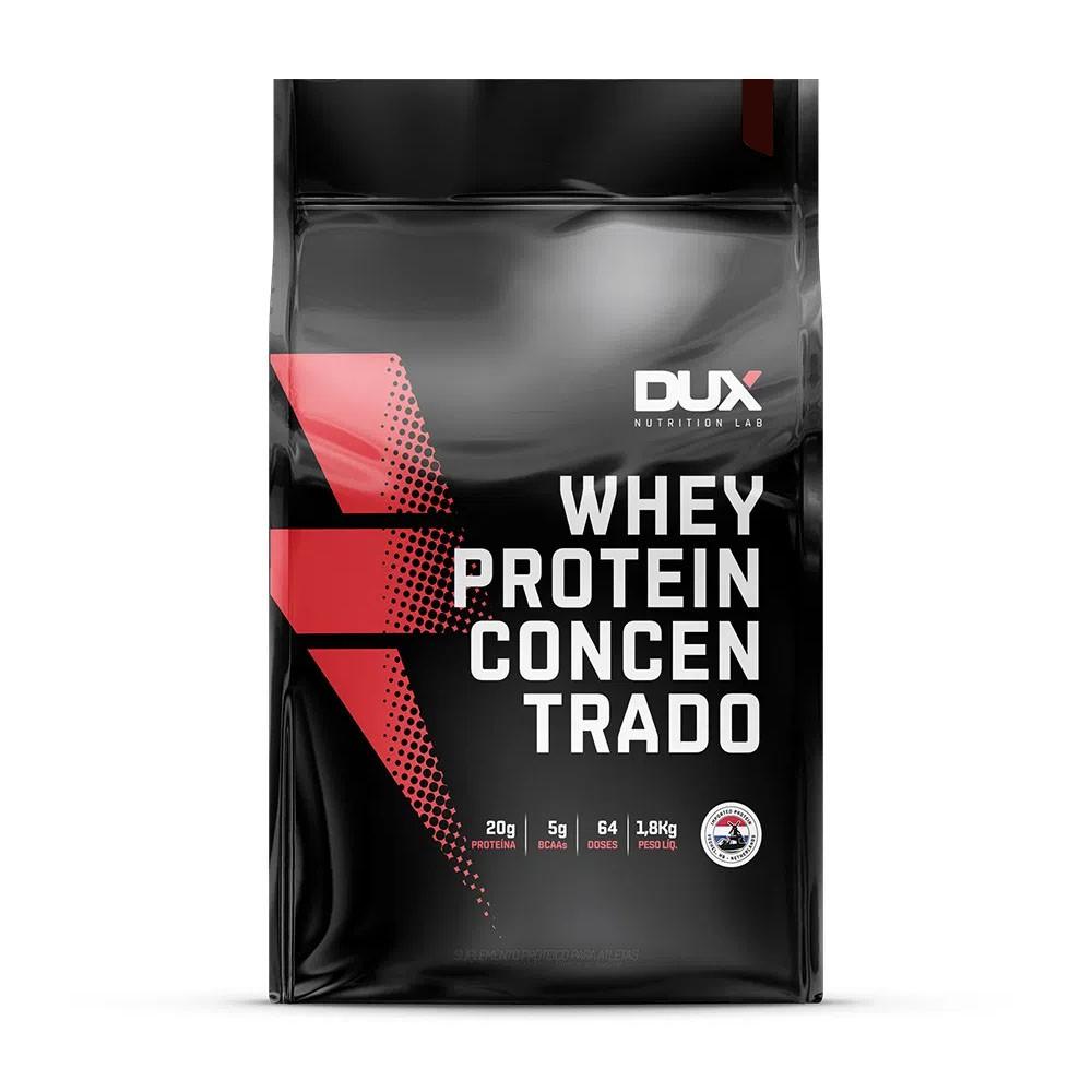 Whey Protein Concentrado Cappuccino Refil 1800g - Dux  - KFit Nutrition