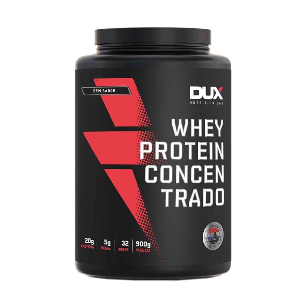 Whey Protein Concentrado sem Sabor 900g - Dux  - KFit Nutrition