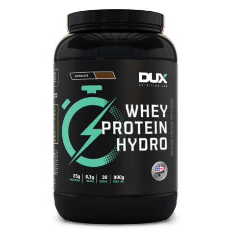 Whey Protein Hydro Chocolate  900g - Dux  - KFit Nutrition