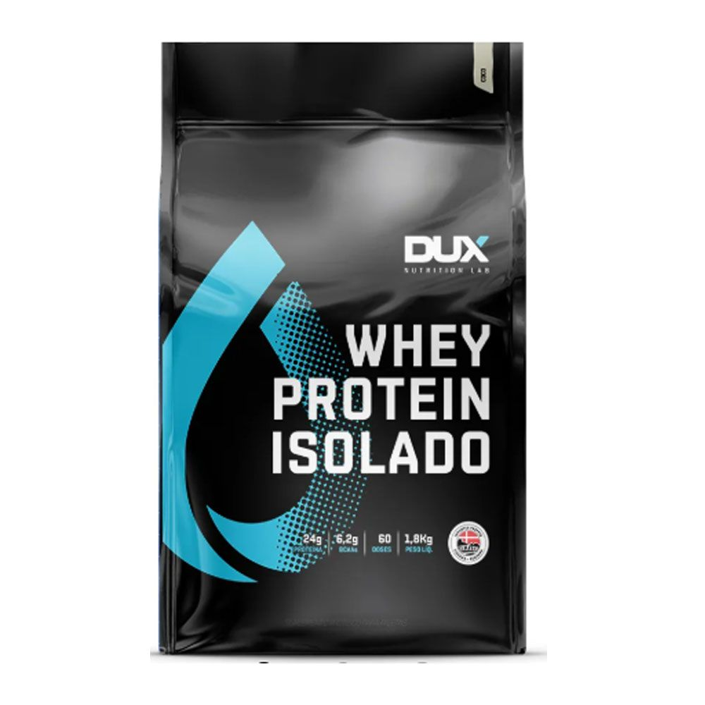 Whey Protein Isolado Coco Refil 1.800g - Dux  - KFit Nutrition