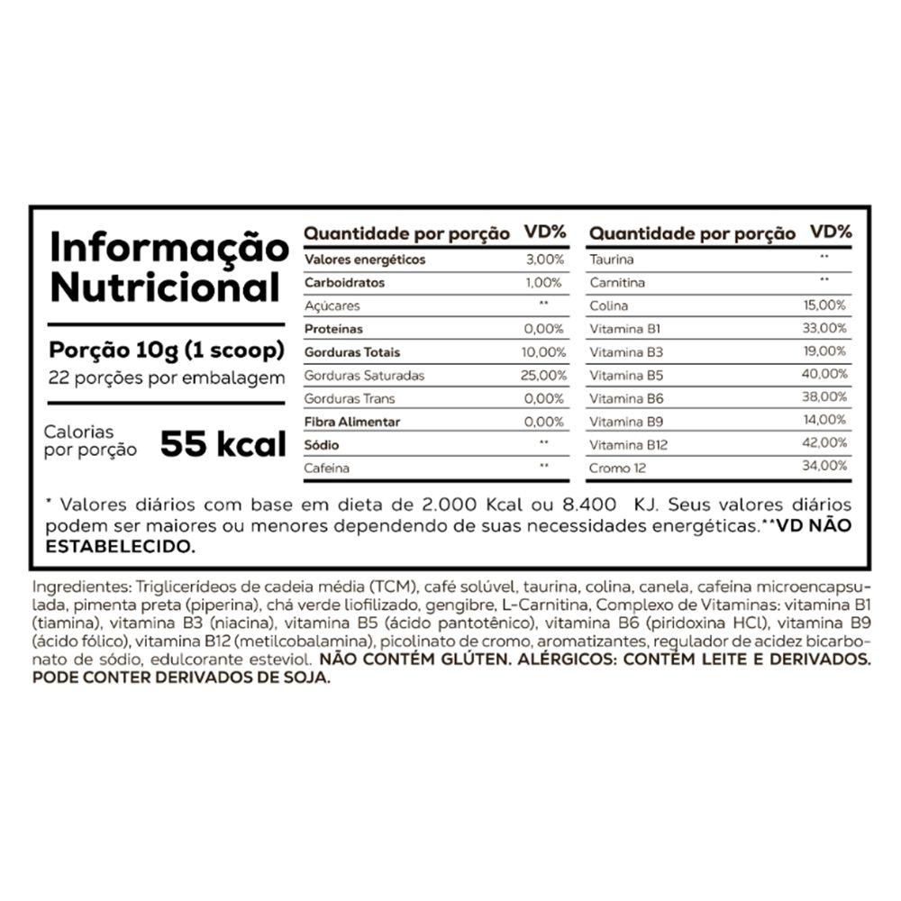 Whey Protein Isolado Morango 900g + Supercoffee 2.0 220g  - KFit Nutrition