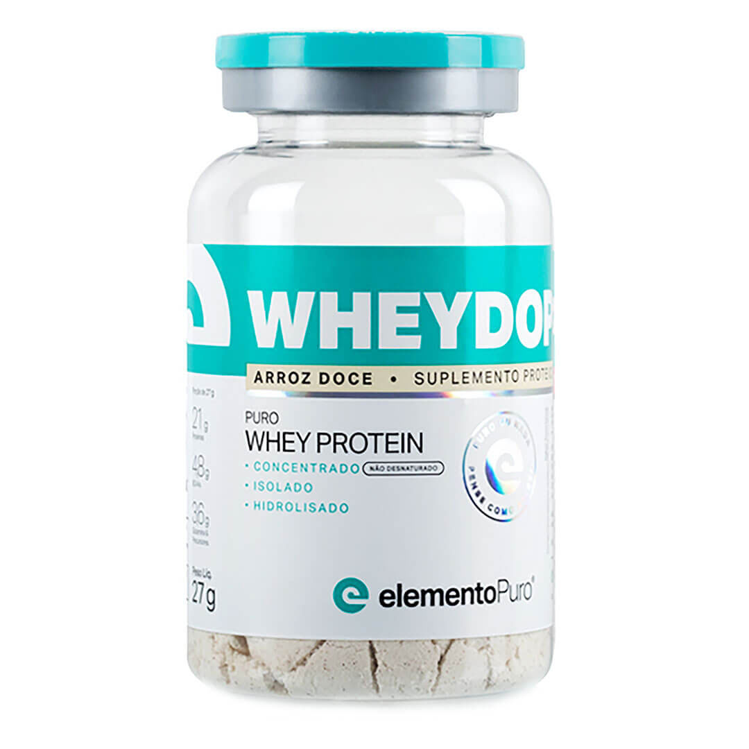 Wheydop 3w Arroz Doce 27g - Dose Unica Elementopuro  - KFit Nutrition