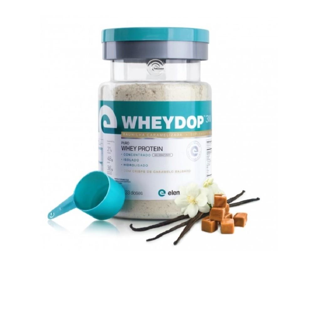 Wheydop 3W Baunilha Caramelizada 900g - ElementoPuro  - KFit Nutrition