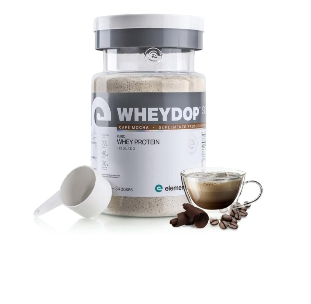 Wheydop Iso Café Mocha 900g - ElementoPuro  - KFit Nutrition