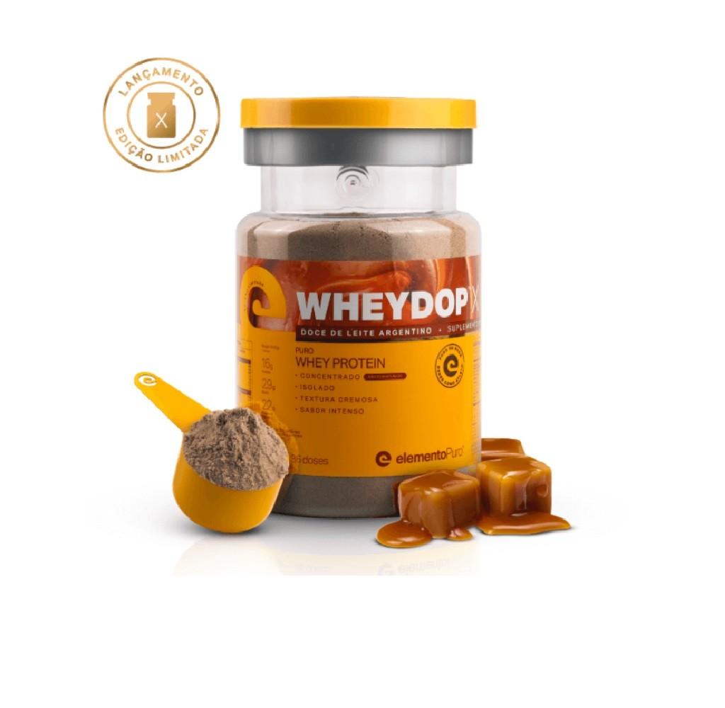 Wheydop X Doce de Leite 900g - ElementoPuro  - KFit Nutrition