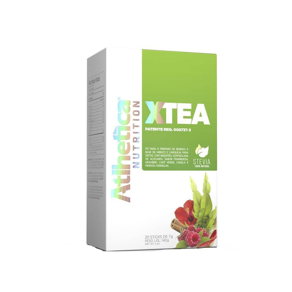 X-Tea 20 Sticks Atlhetica  - KFit Nutrition