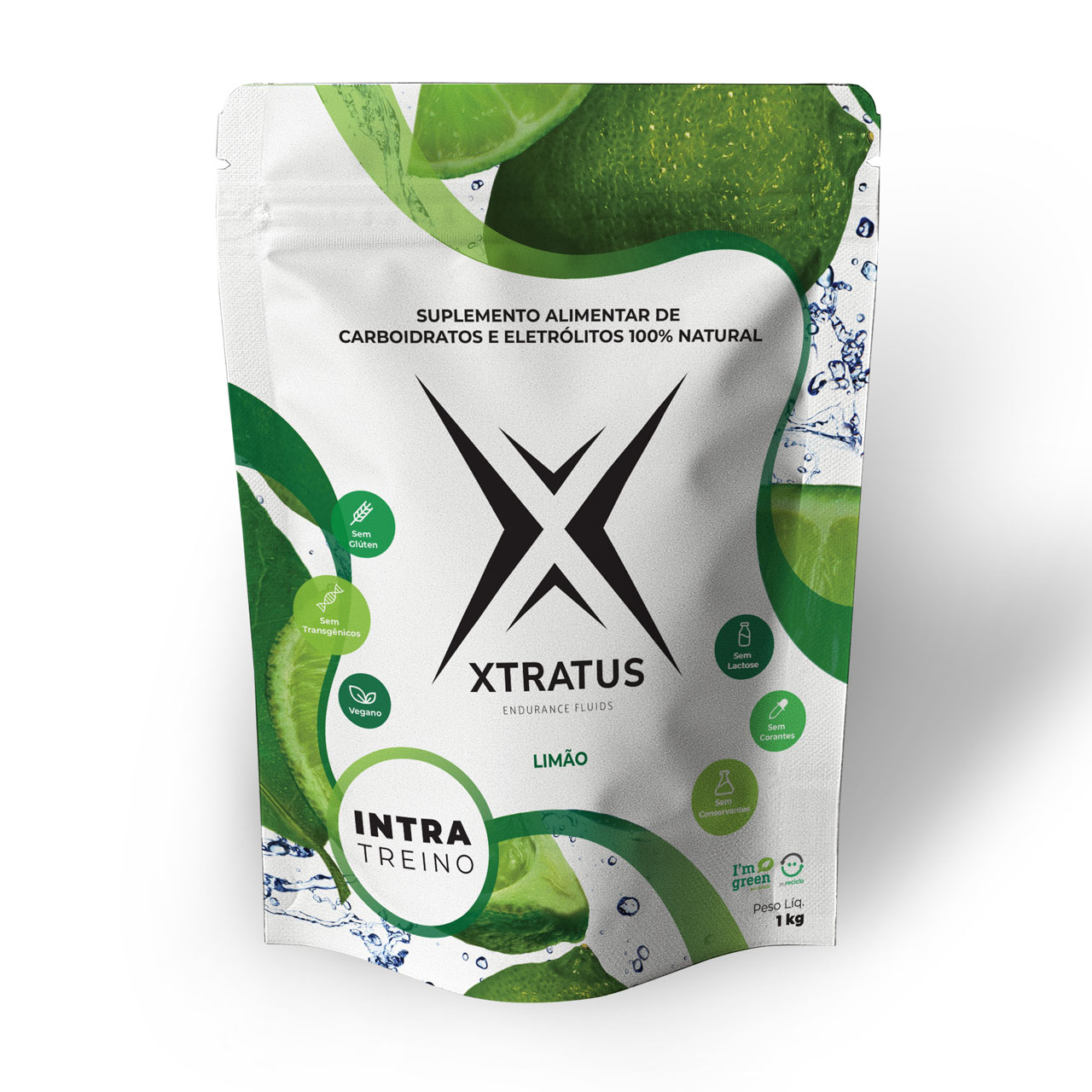 XTratus Endurance Fluid Limão 1Kg  - KFit Nutrition