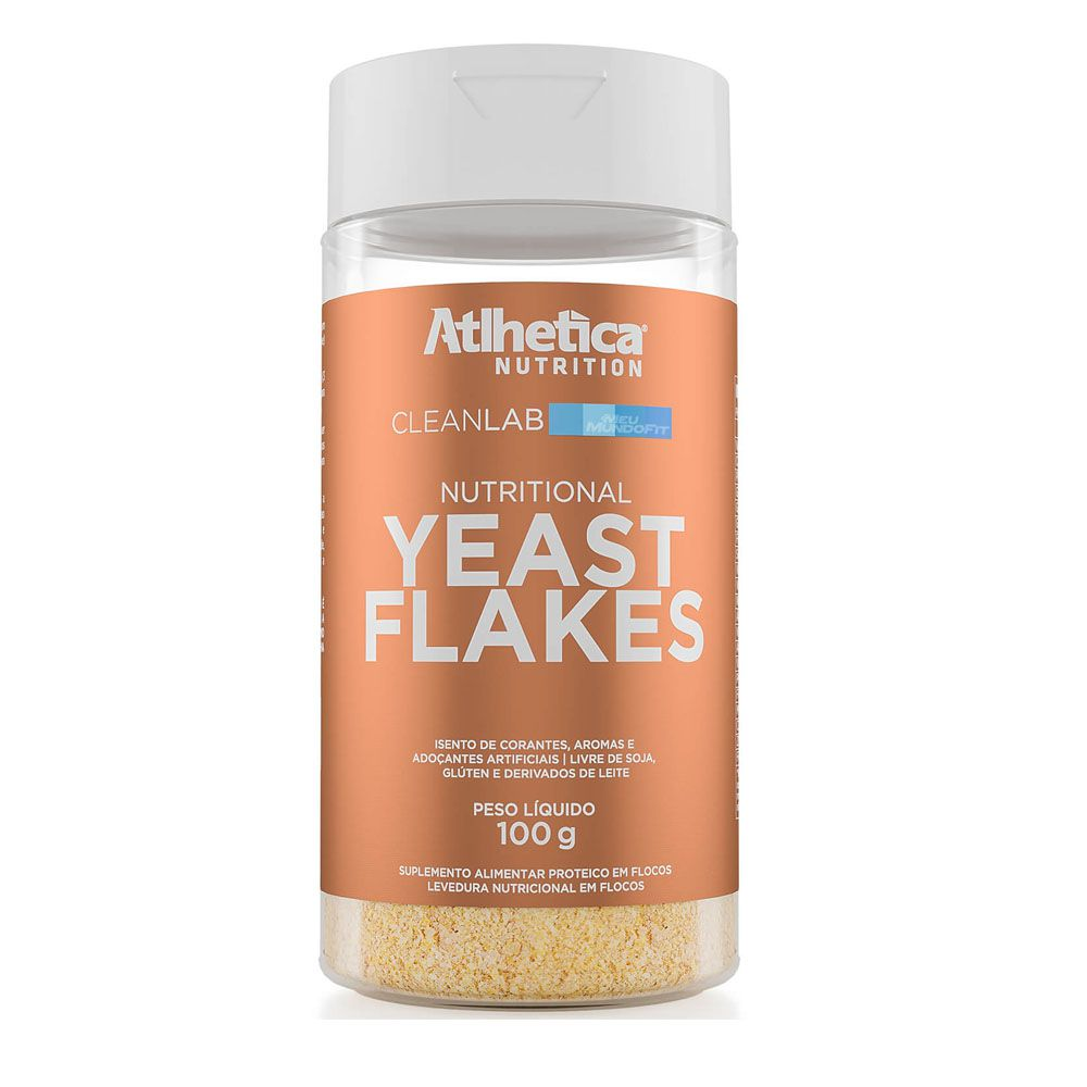 Yeast flakes 100g Atlhetica Nutrition  - KFit Nutrition
