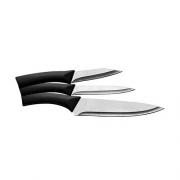Conjunto de facas colors  3pç - Preto