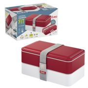 Marmita Lunch Box Fit Vermelha