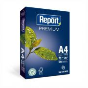 Papel Suzano Report Premium A4  210mm x 297mm  - 500 Folhas