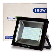 Refletor Eco Led Externo SMD IP66 100W 6500K BR BIV UP LED