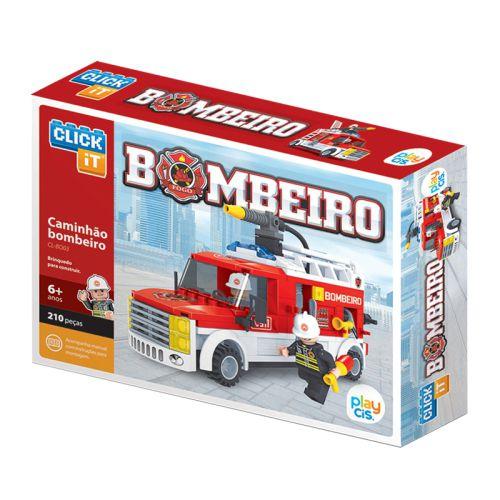 Caminhão Bombeiro  CL-BO03  210 Pçs