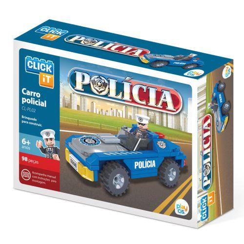 Carro Policial  CL-PL02  98 Peças