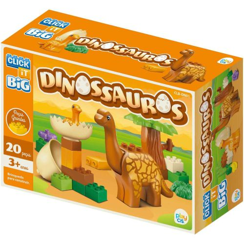 Dinossauros CLB-DN01  20 Pçs