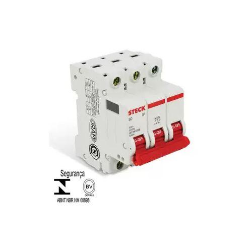 Disjuntor série SD63 63A 3P Curva C