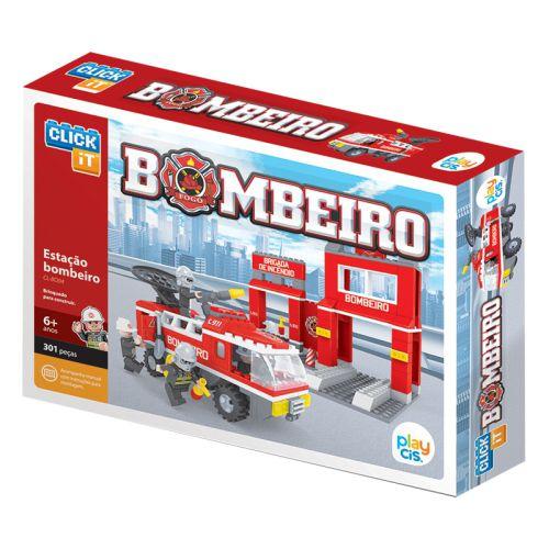 Estação Bombeiro CL-BO04  301 Peças