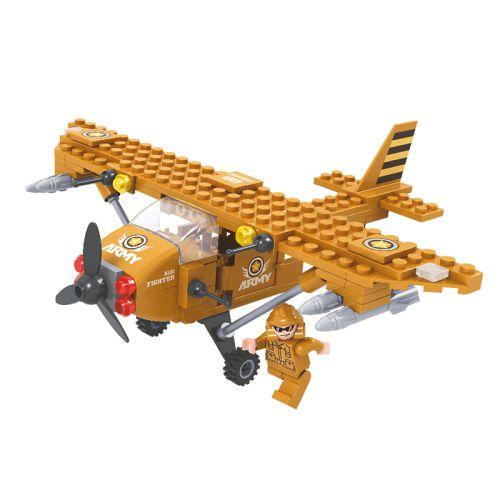 Exército Avião  CL-EX04  105 Peças