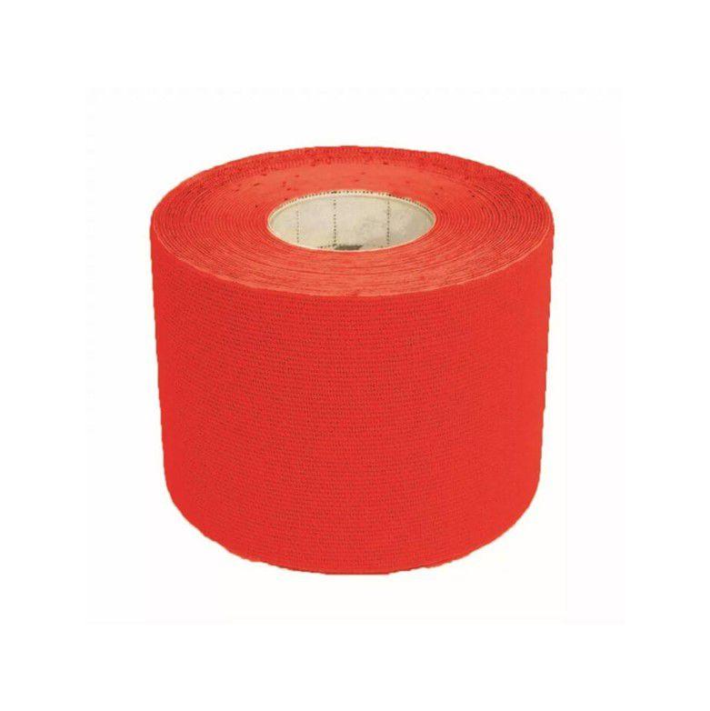Fita Kinésio Rolo 5cmX5m Vermelha