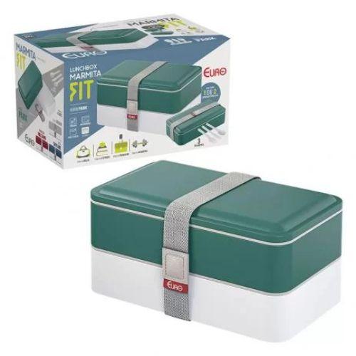 Marmita Lunch Box Fit Verde