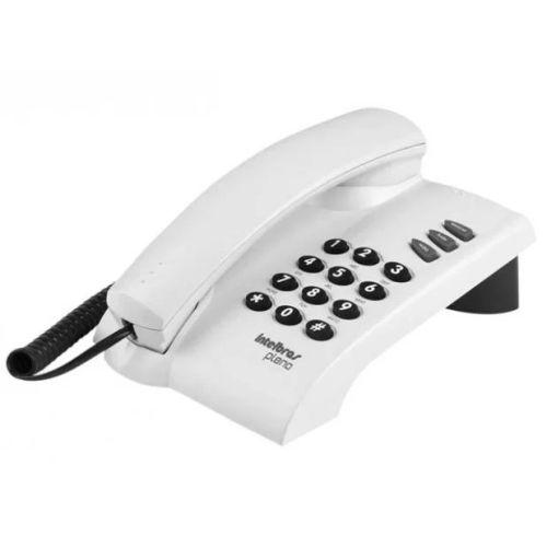 Telefone Com Fio Pleno Cinza Artico Pleno