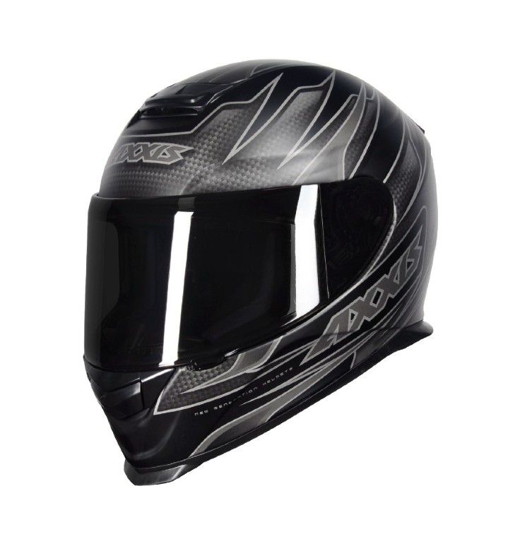 CAPACETE AXXIS SPEED MATT BLACK GREY