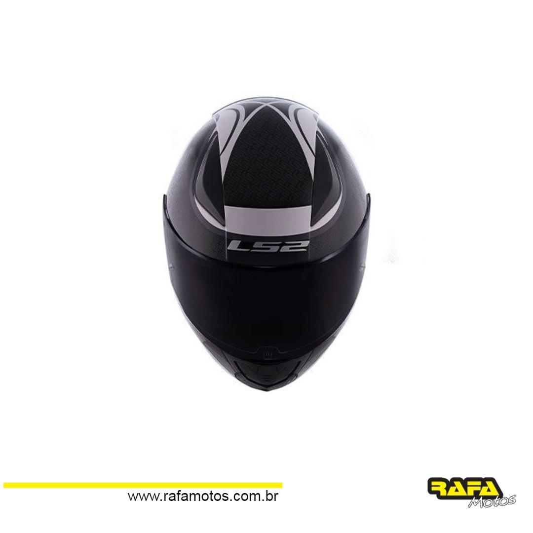 Capacete LS2 FF353 Rapid Deeper Preto (Lançamento 2020)