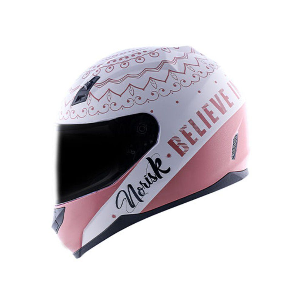 CAPACETE NORISK FF391 GIRL POWER ROSA