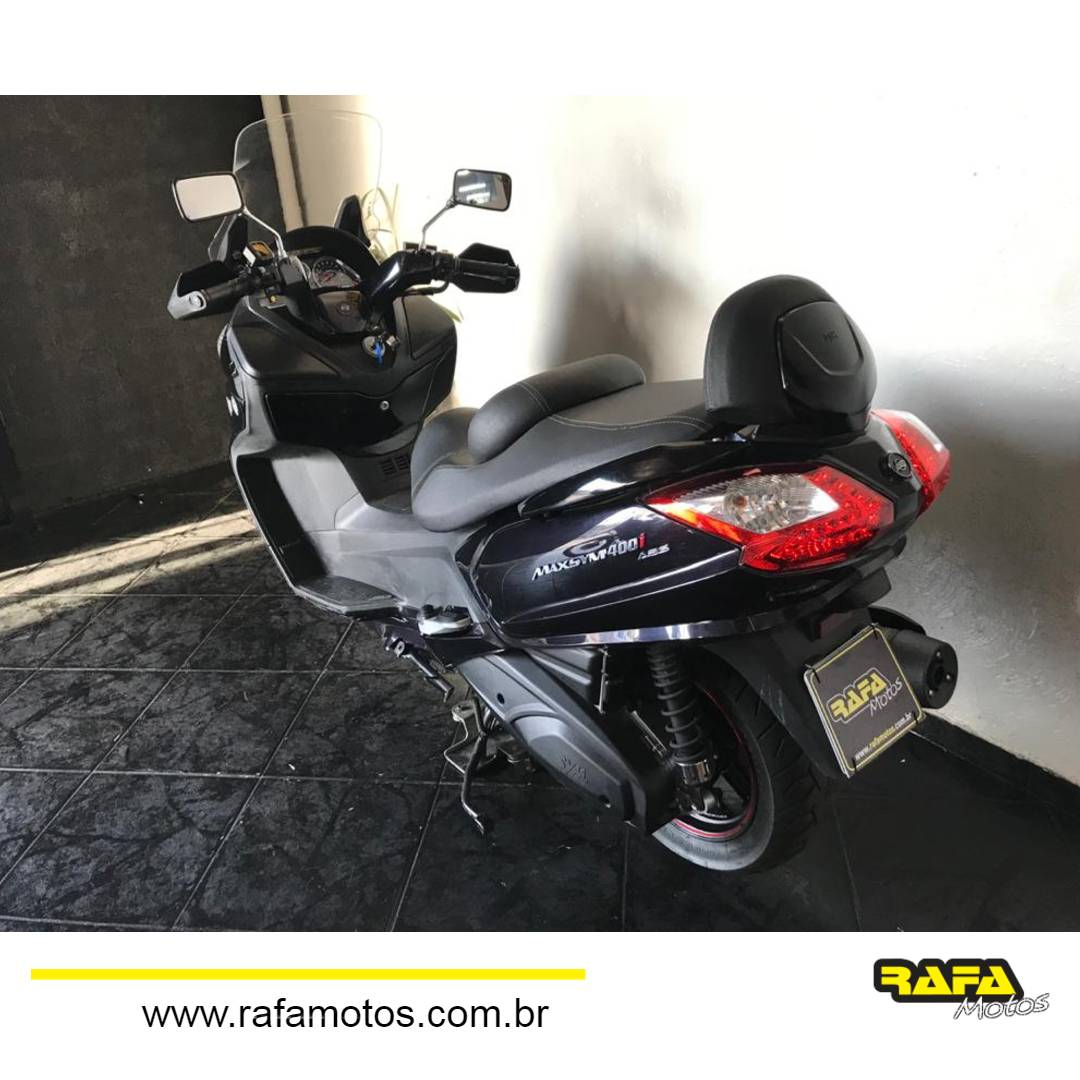 Dafra MaxSym 400i 2018 Preta