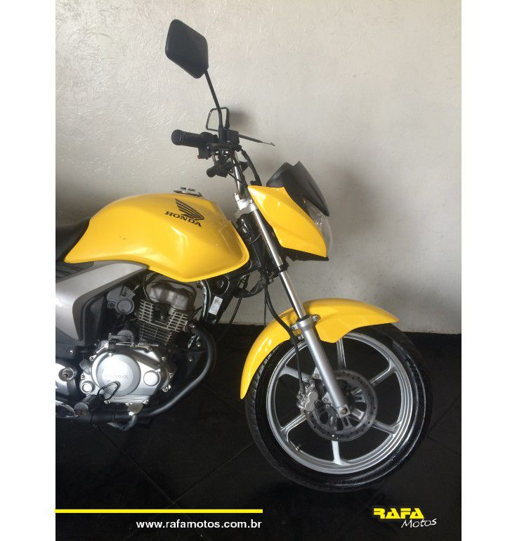 Honda CG 150 Titan EX - Amarela