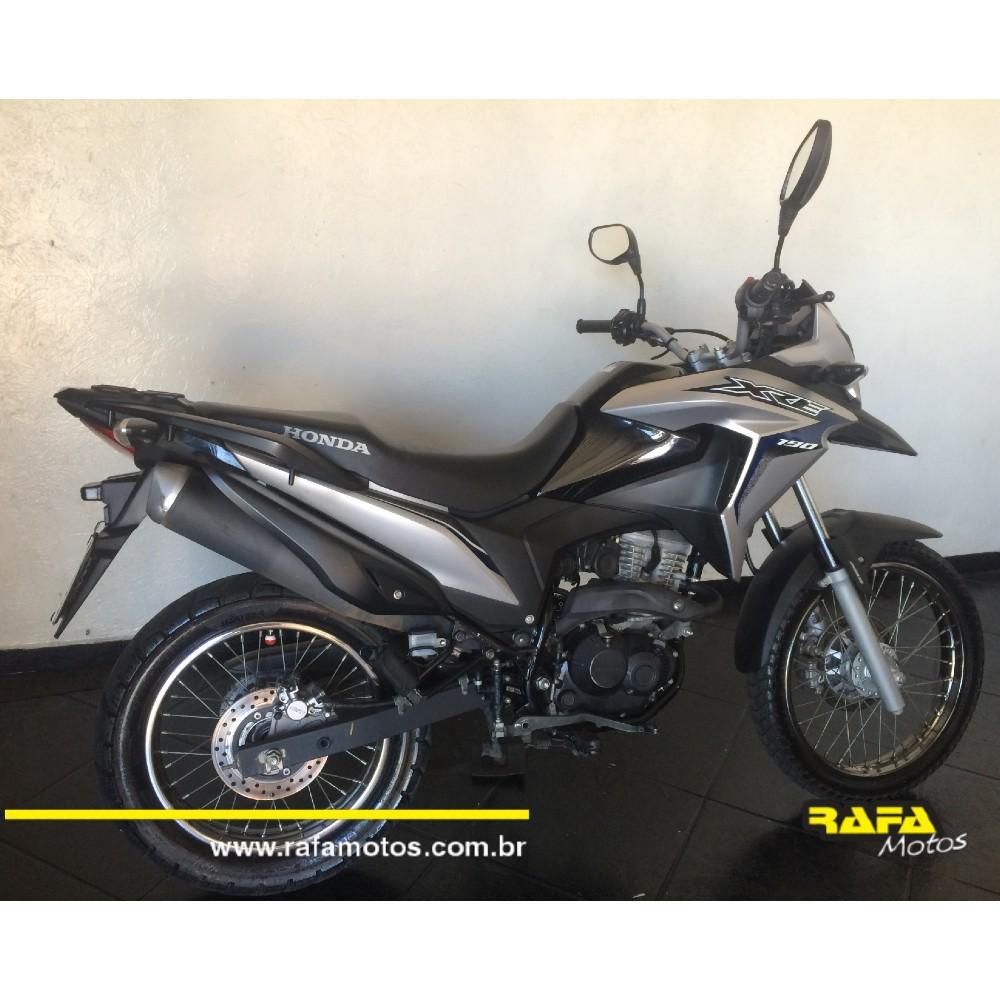 Honda XRE 190 ABS 2018 Prata