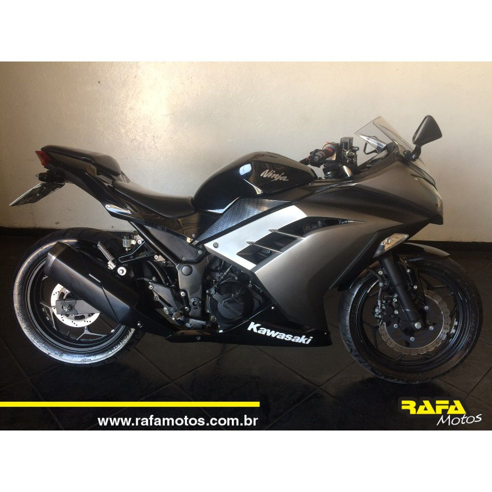 Kawasaki Ninja 300 2015  Cinza