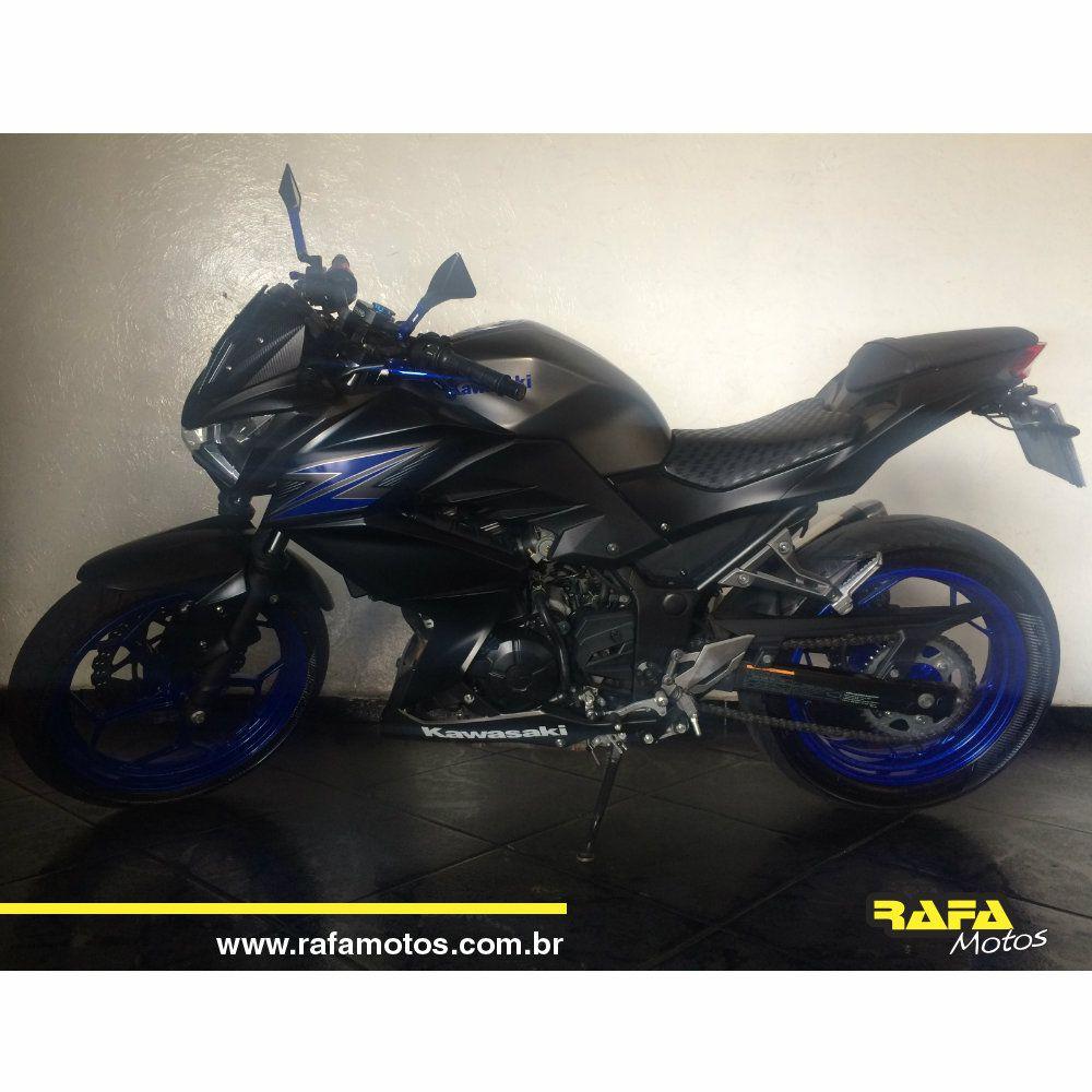 Kawasaki Z 300 2016 Cinza