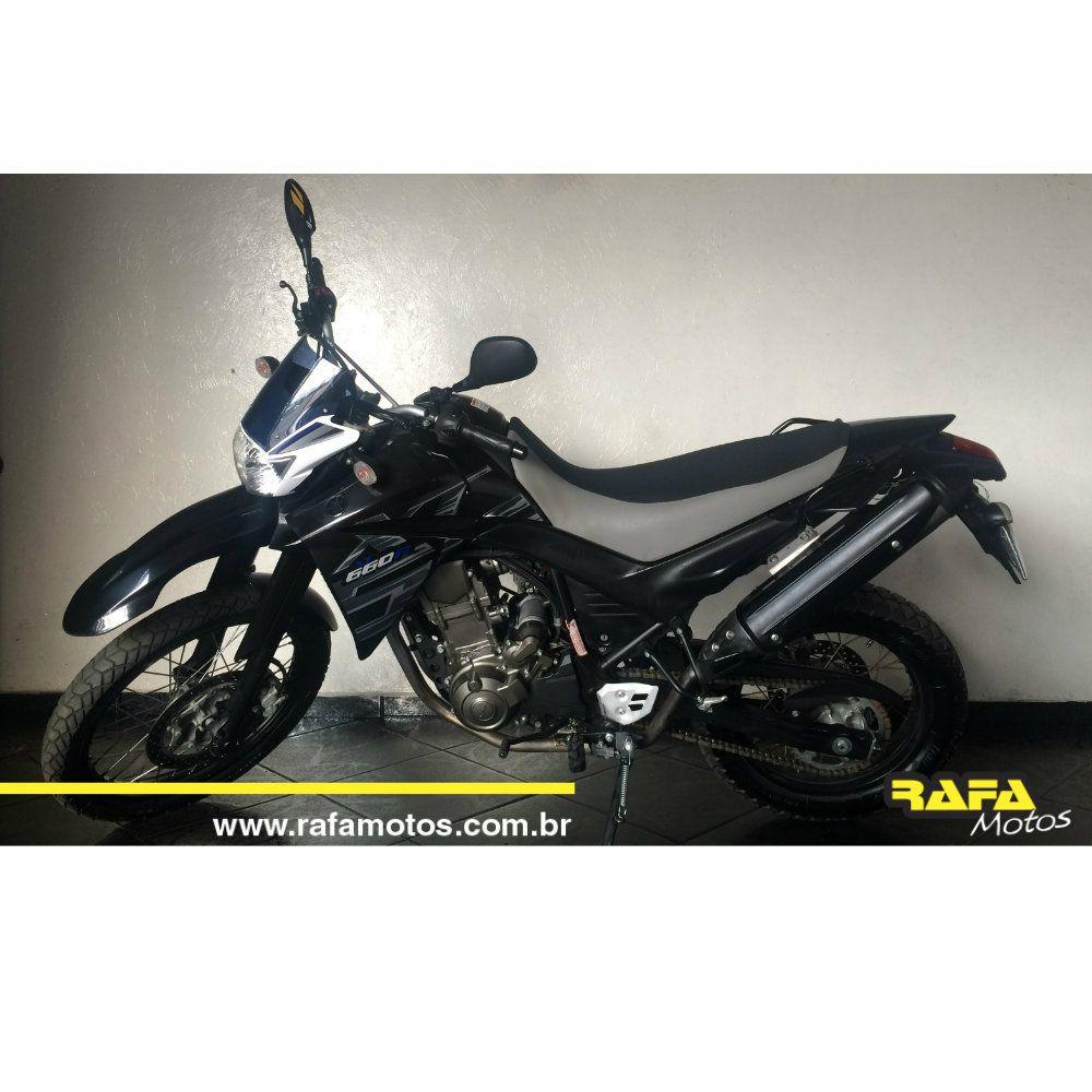 XT 660 PRETA 2008