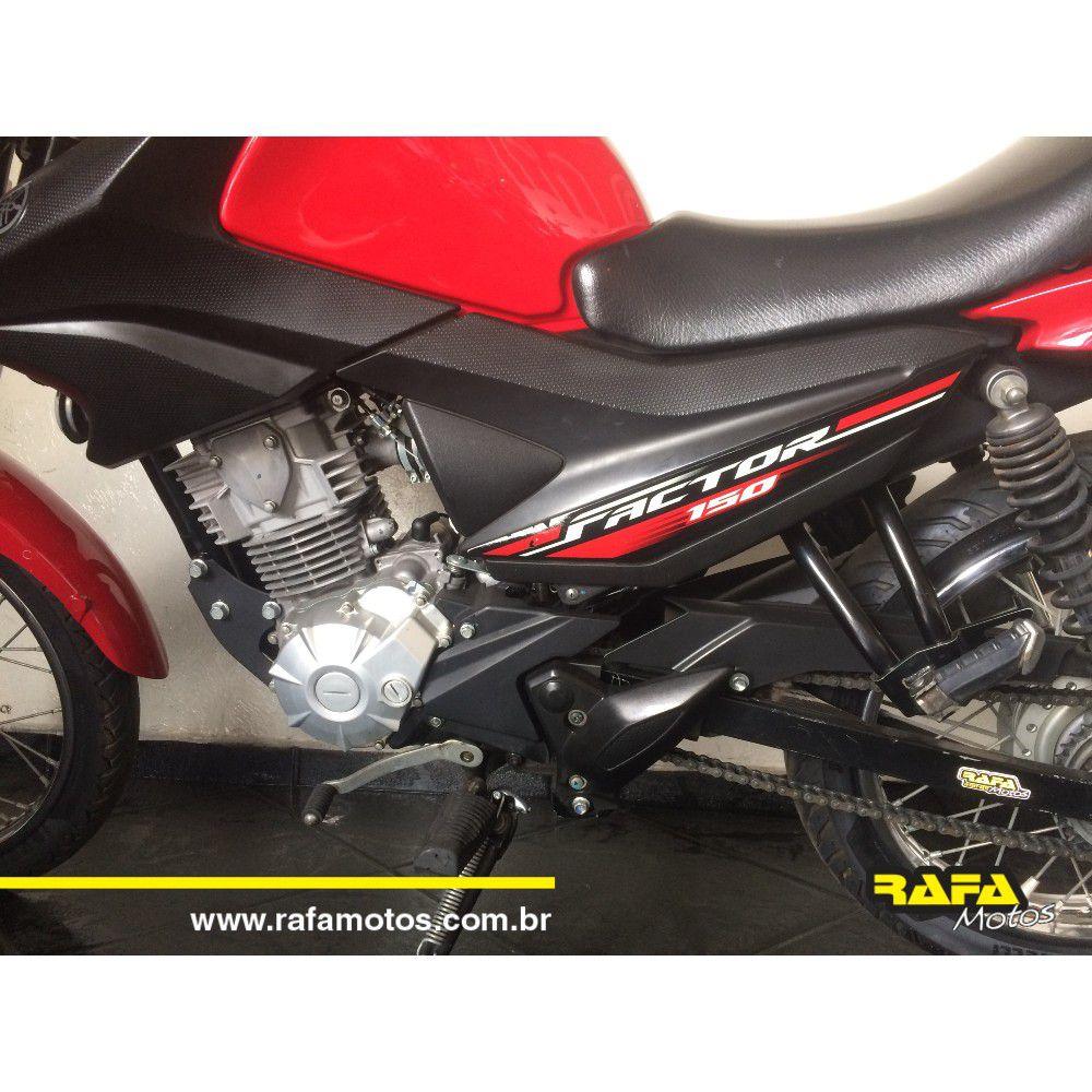 Yamaha YBR Factor 150E Vermelho