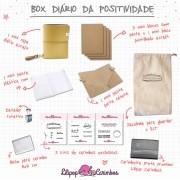 BOX DIÁRIO DA POSITIVIDADE - MOSTARDA