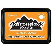 CARIMBEIRA ADIRONDACK - SUNSET ORANGE (PIGMENT INK PAD)