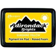 CARIMBEIRA ADIRONDACK - SUNSHINE YELLOW (PIGMENT INK PAD)