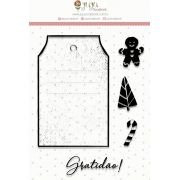Carimbo  Gratidão  - Juju Scrapbook